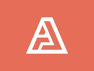 A and J Personal Branding j logo mark monogram a sans serif type mark letter designer branding personal logo logo