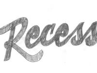Recess sketch crop