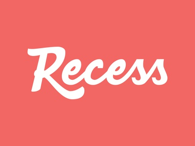 Recess Lettering