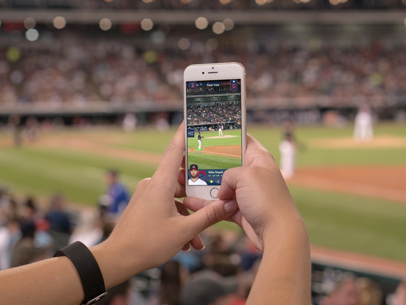 hARdball App (Player Highlight) sports design ui mobile ui design hackathon baseball app design