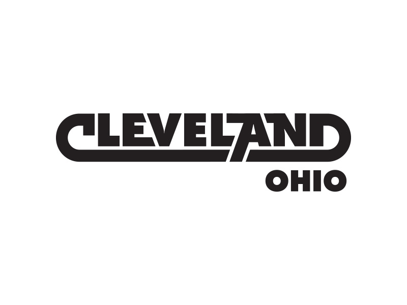 Can you tell who inspired this? type wordmark logo skillshare wip vector cleveland draplin