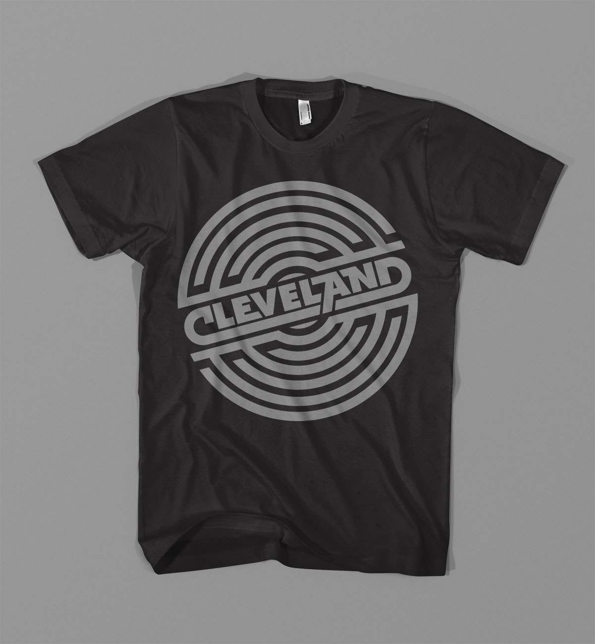 Cleveland record dribbble tee