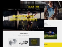 Fitness Product Website