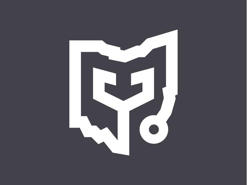 Ohio Medical Logo Mark Concept medical ohio branding logo