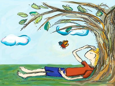 The Fly |Poem illustration