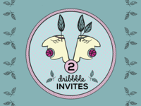 2 dribbble invites | update
