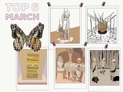 Top 6 blog illustration art blog cartoon exhibition inspiration adobe illustrator draw ipad