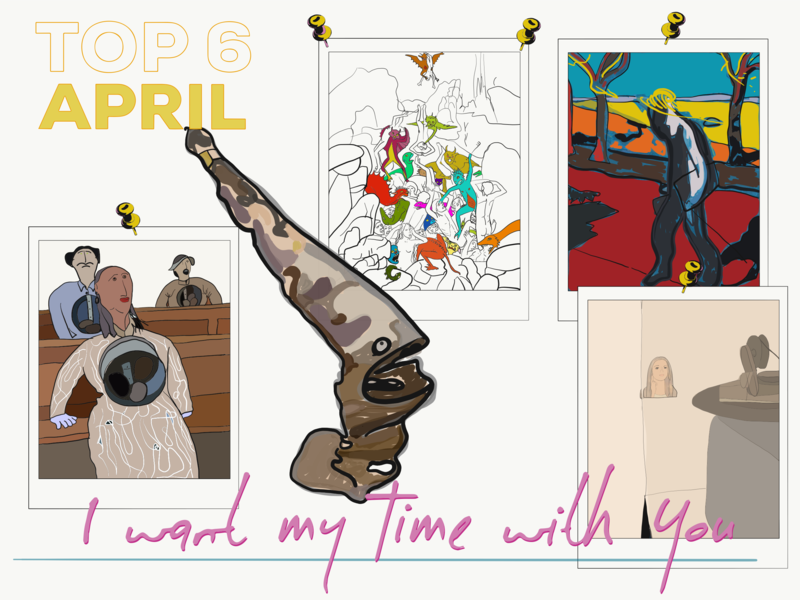 Top 6 April opinion illustration blog art blog exhibition cartoon inspiration ipad adobe illustrator draw
