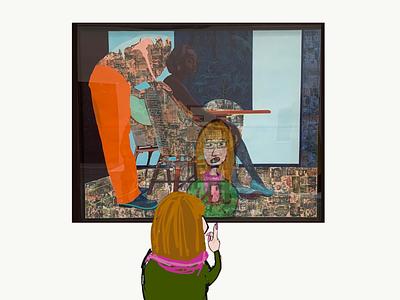As seen at the Venice Biennale reflections opinion illustration blog adobe draw art blog exhibition cartoon inspiration adobe illustrator draw ipad
