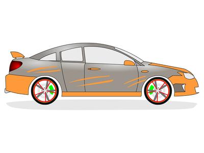 Car illustration illustration
