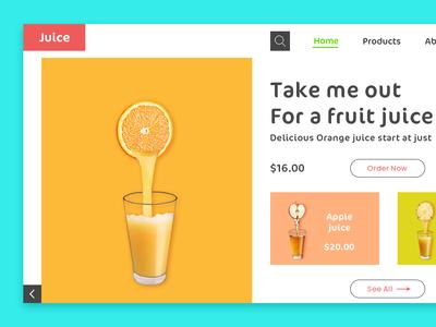 Juice Site design