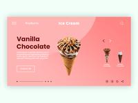 Web Page Ice Cream Site