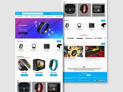 Noise Web Layout design web ux ui