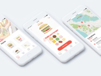 In N Out App Concept