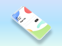 Daily UI 001 / Sign Up