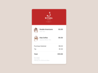 Daily UI 017 / Email Receipt