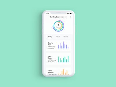 Daily UI 018 / Analytics