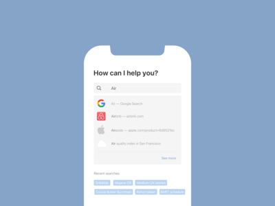 Daily UI 022 / Search
