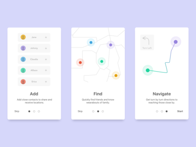 Daily UI 023 / Onboarding