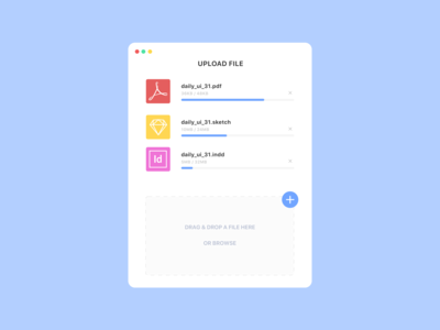 Daily UI 031 / File Upload