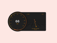 Daily UI 034 / Car Interface