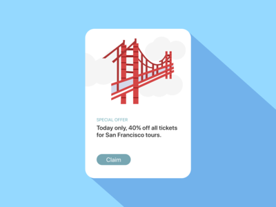 Daily UI 036 / Special Offer