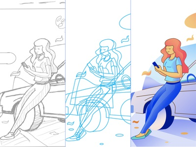 Input Illustration Process