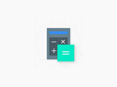 Calculator Freebie free freebie ios calculator flat icon design icon illustrator android lollipop material design android google