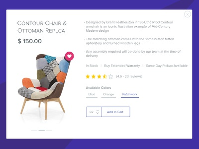 Uncluttered Product Card View shopify pdp clean web shop product cart card ecommerce shop minimal ui flat