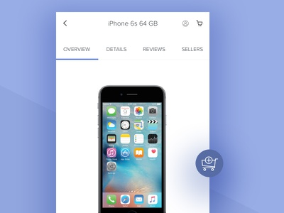 Ecommerce PDP iphone brand app mobile typography shop product detail page minimal clean ui pdp ecommerce