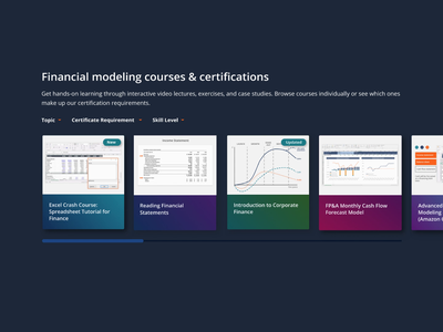 Course card hover state e-learning figma principle ux gradients in cards view more interaction design hover effects course cards ui
