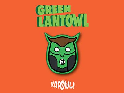 Green Lantowl