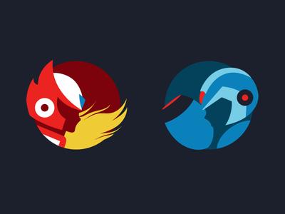 Megaman Icons