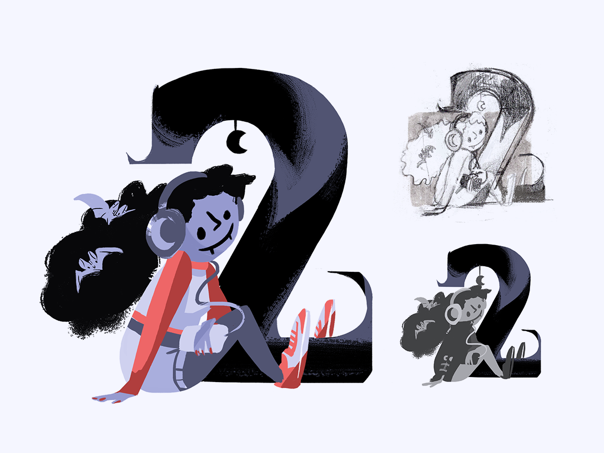 36 days of type • process feature sketches typography illustrated type 36 days of type process illustration