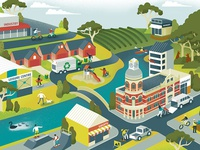 City of Swan Budget Newsletter Illustration