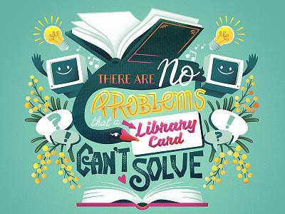 City of Swan Libraries - Bag Illustration vector art adobe illustrator illustrator illustration