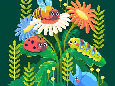 Sorry to Bug You childrens illustration procreate kidlit illustrator illustration