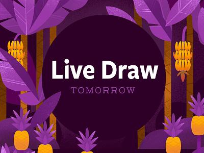 Procreate Live Draw - TOMORROW procreate childrens illustration kidlit illustrator illustration