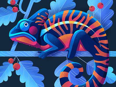 Grumpy Chameleon procreate colour collective childrens book illustration kidlit childrens illustration illustrator illustration