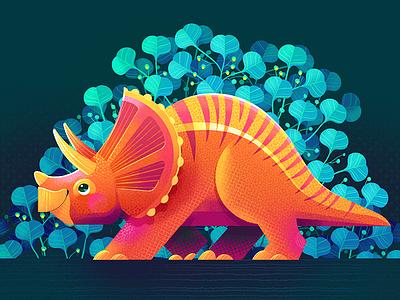 Triceratops 😅 kidlitart stegosaurusart stegosaurus procreateapp procreate illustration