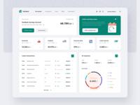 NevBank Dashboard fintech app charts banking app transfer balance transactions funds finance banking bank fintech dashboard account app interface ux ui