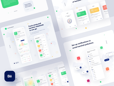 Live Air by Kaiterra - Behance Case Study health ios illustration interaction air quality mobile interface app case study behance 10clouds ux ui