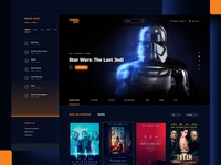 Cinema City Redesign - homepage