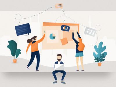 Perfect Design Workshops - Blogpost Illustration