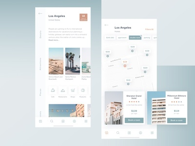 Hotel Booking App - Travel guide