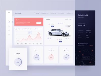 Car Dashboard Interface