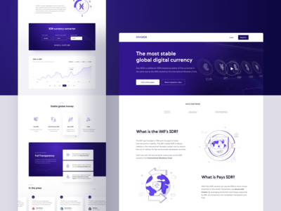 PaysXDR - landing page