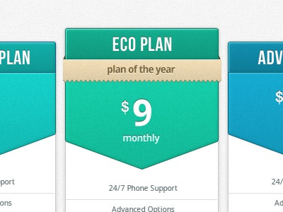 Pricing Table pricing table ui interface app hosting web minimalist clean blue pixel perfect