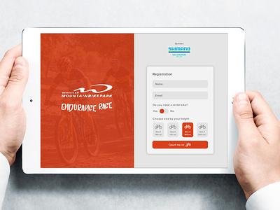 Daily UI #001: Sign Up dailyui web ui design