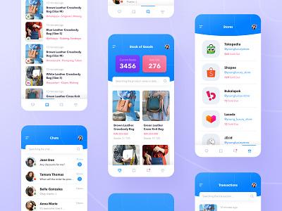 TOKODASH ux design ux ui design ui store single simple online store online shop mobile marketplace management efficient ecommerce easy design dashboad commerce app design app